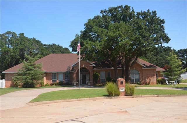 609 Oak Ridge Place, Blanchard, OK 73010 (MLS #788485) :: Wyatt Poindexter Group