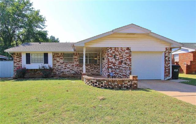 4109 Kim Drive, Del City, OK 73115 (MLS #790907) :: Wyatt Poindexter Group