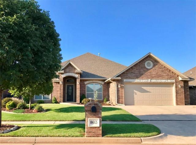 8613 NW 112th Street, Oklahoma City, OK 73162 (MLS #791268) :: Homestead & Co