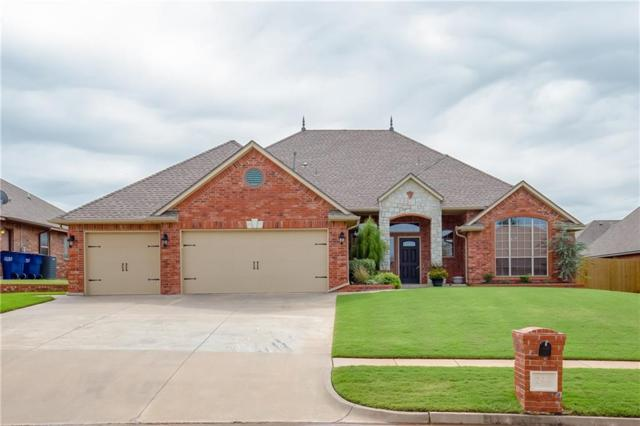 244 E Atlanta Terrace, Mustang, OK 73064 (MLS #792618) :: Barry Hurley Real Estate