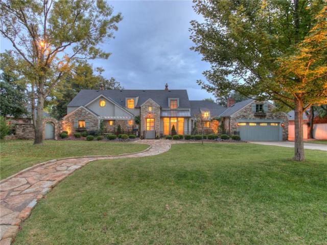 1804 Drury Lane, Nichols Hills, OK 73116 (MLS #792675) :: Wyatt Poindexter Group