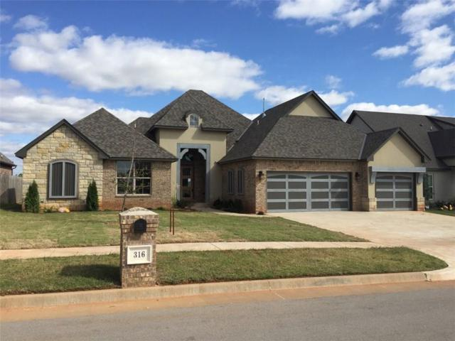 316 Old Home Place, Yukon, OK 73099 (MLS #794375) :: Wyatt Poindexter Group