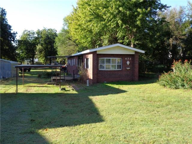 422 E Lincoln, Mangum, OK 73554 (MLS #794487) :: Erhardt Group at Keller Williams Mulinix OKC