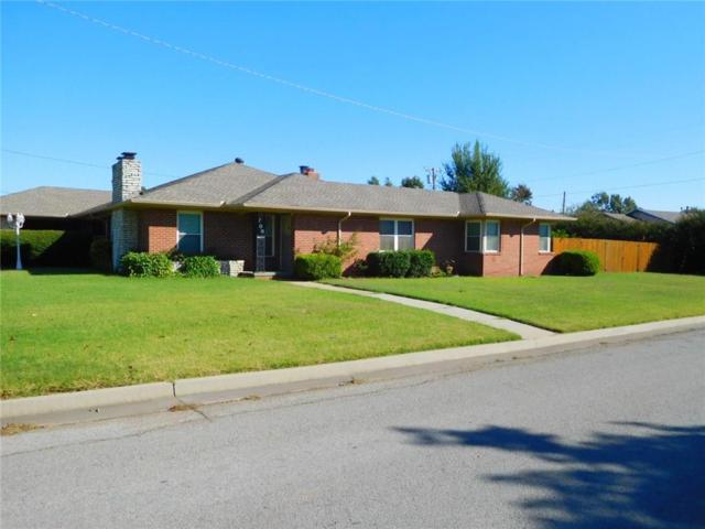 706 Thompson Drive, El Reno, OK 73036 (MLS #794547) :: Wyatt Poindexter Group