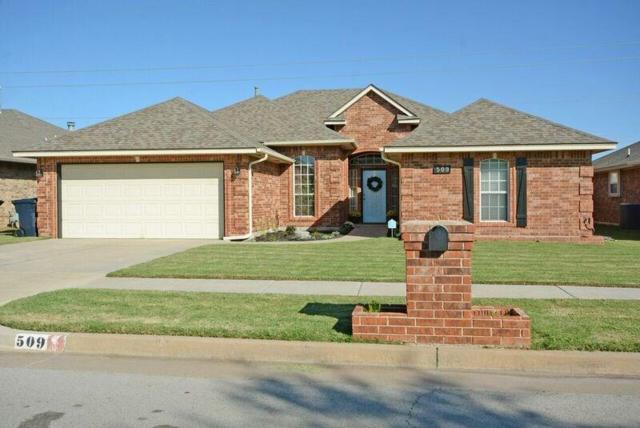 509 Sw 157th Street, Oklahoma City, OK 73170 (MLS #794694) :: Richard Jennings Real Estate, LLC