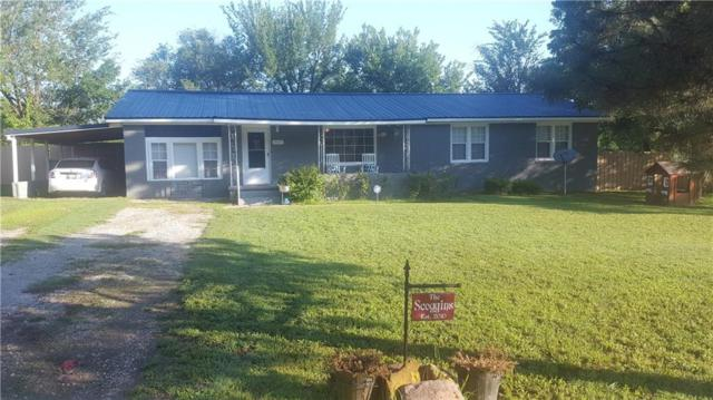 419 E Main, Konawa, OK 74849 (MLS #795379) :: Wyatt Poindexter Group