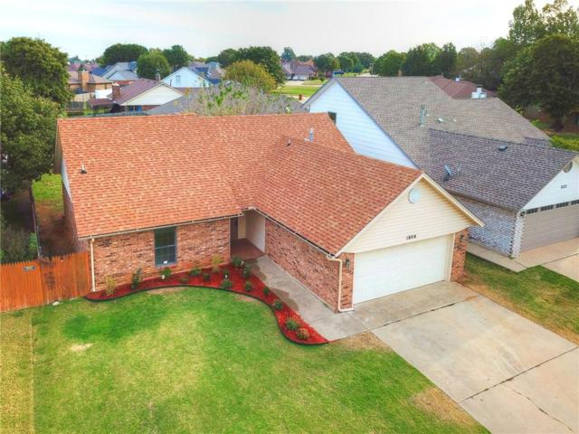 1808 Honeysuckle, Midwest City, OK 73130 (MLS #795463) :: Barry Hurley Real Estate