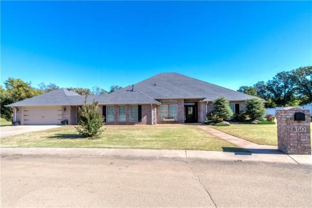 850 Tilghman Drive, Chandler, OK 74834 (MLS #795534) :: Erhardt Group at Keller Williams Mulinix OKC