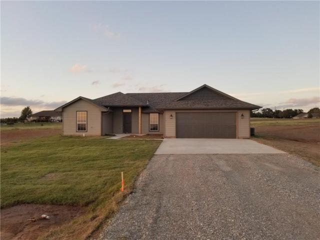 1301 Hillside Terrace, Blanchard, OK 73010 (MLS #795612) :: Richard Jennings Real Estate, LLC