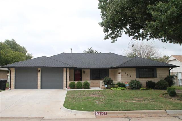 2104 Bellaire, Moore, OK 73160 (MLS #795653) :: Richard Jennings Real Estate, LLC
