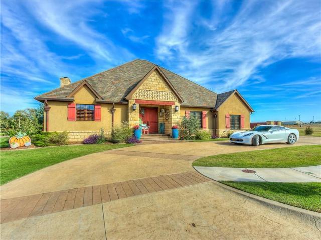 1201 Stonebrook Drive, Kingfisher, OK 73750 (MLS #795852) :: Wyatt Poindexter Group