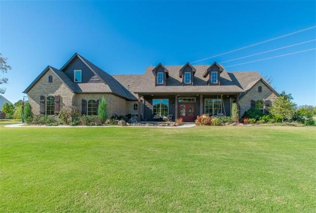 431 Hickory Hill Drive, Choctaw, OK 73020 (MLS #796003) :: Wyatt Poindexter Group