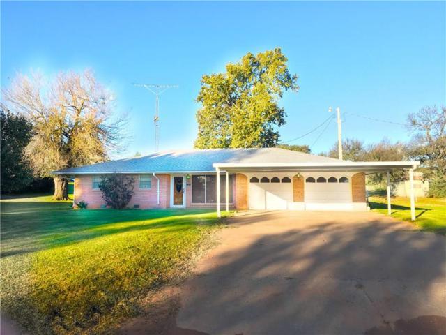 119 S Church, Hydro, OK 73048 (MLS #796037) :: Wyatt Poindexter Group