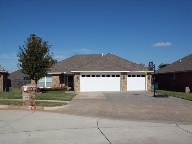 631 Shadow Ridge Way, Mustang, OK 73064 (MLS #796317) :: Wyatt Poindexter Group