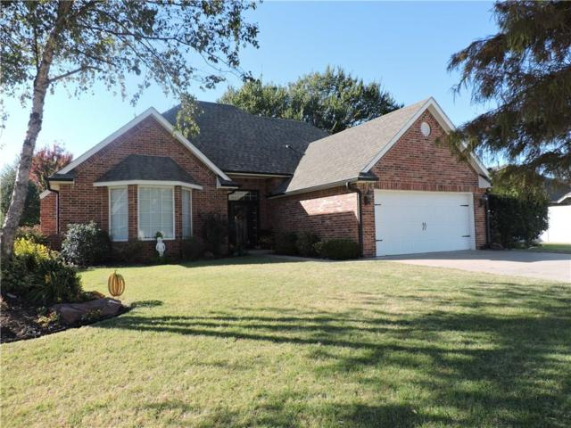 1510 Hunters Ridge Drive, Shawnee, OK 74804 (MLS #796942) :: UB Home Team