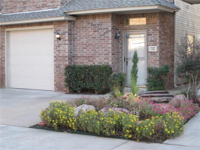 6162 NW Brookline Avenue #10, Oklahoma City, OK 73112 (MLS #797045) :: Erhardt Group at Keller Williams Mulinix OKC