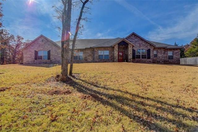 20435 Turkey Trail, Newalla, OK 74857 (MLS #797764) :: Wyatt Poindexter Group