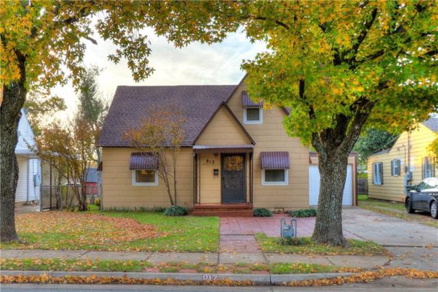 817 N Boulevard, Edmond, OK 73034 (MLS #798396) :: Wyatt Poindexter Group