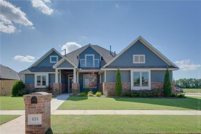 624 Frisco Ridge Drive, Yukon, OK 73099 (MLS #798695) :: Keller Williams Mulinix OKC