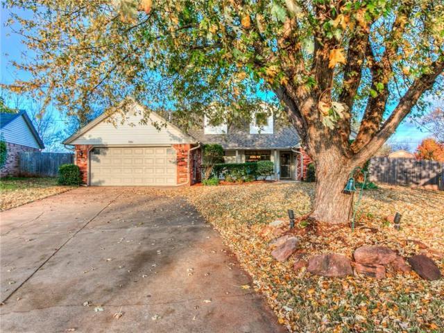 501 Rolling Hills Terrace, Edmond, OK 73012 (MLS #798705) :: Keller Williams Mulinix OKC