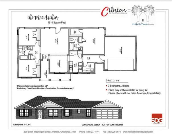 1808 Ritz Street, Clinton, OK 73601 (MLS #798798) :: Wyatt Poindexter Group