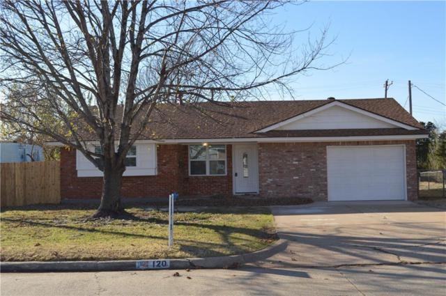 120 N Ranchwood Boulevard, Yukon, OK 73099 (MLS #799171) :: Wyatt Poindexter Group