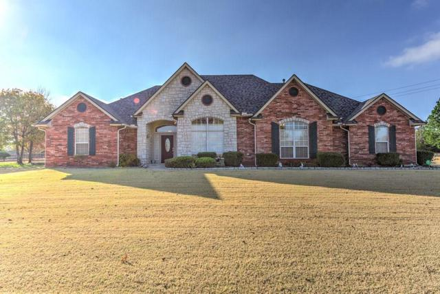 381 Hickory Hill Drive, Choctaw, OK 73020 (MLS #799343) :: Wyatt Poindexter Group