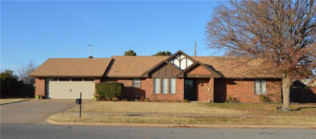 1431 Kingsway, Weatherford, OK 73096 (MLS #799957) :: Wyatt Poindexter Group