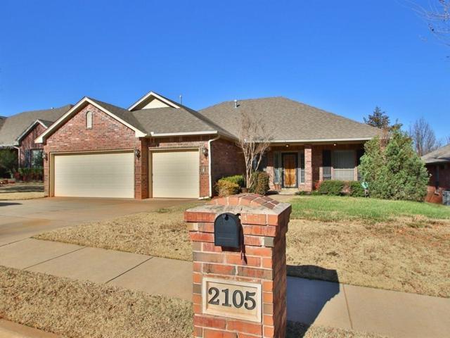 2105 Pine View Terrace, Edmond, OK 73003 (MLS #800343) :: Wyatt Poindexter Group