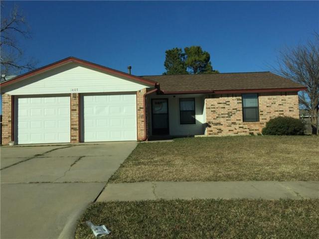 1405 SE 10th, Moore, OK 73160 (MLS #800464) :: Wyatt Poindexter Group