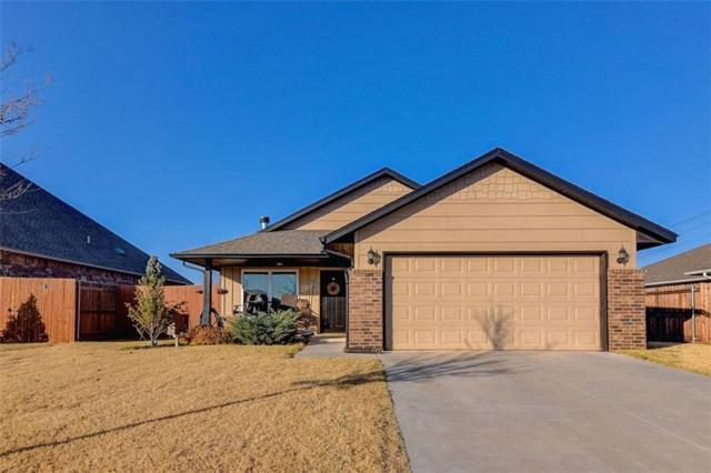 605 Kings Manor, Moore, OK 73160 (MLS #800573) :: Barry Hurley Real Estate