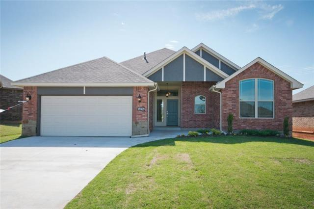 15909 Burkett Circle, Edmond, OK 73013 (MLS #800652) :: Wyatt Poindexter Group