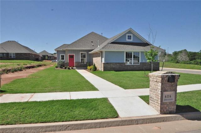6116 Oxnard Street, Edmond, OK 73034 (MLS #800685) :: Wyatt Poindexter Group