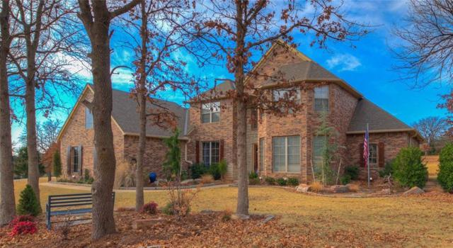 6351 Stone Hill Drive, Edmond, OK 73034 (MLS #800755) :: Wyatt Poindexter Group