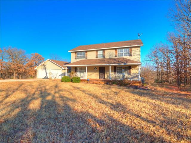 9 Russell Road, McLoud, OK 74851 (MLS #800901) :: Barry Hurley Real Estate