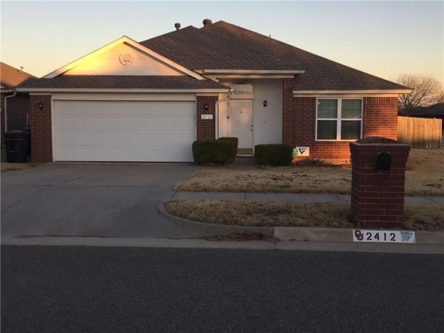 2412 Augusta, Moore, OK 73160 (MLS #800916) :: Barry Hurley Real Estate