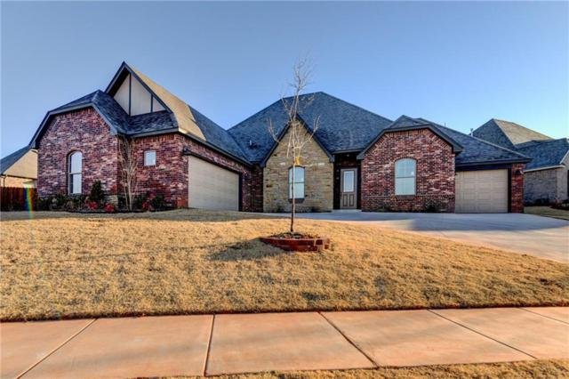 19548 Rambling Creek Drive, Edmond, OK 73012 (MLS #800972) :: Homestead & Co