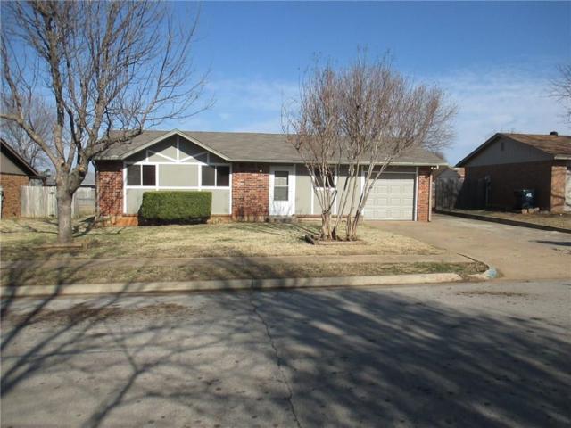 707 Meadowlake Drive, Noble, OK 73068 (MLS #801196) :: Wyatt Poindexter Group