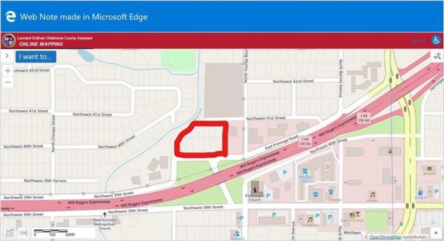 Nw 40th And I44 Service Street, Oklahoma City, OK 73112 (MLS #801655) :: Wyatt Poindexter Group