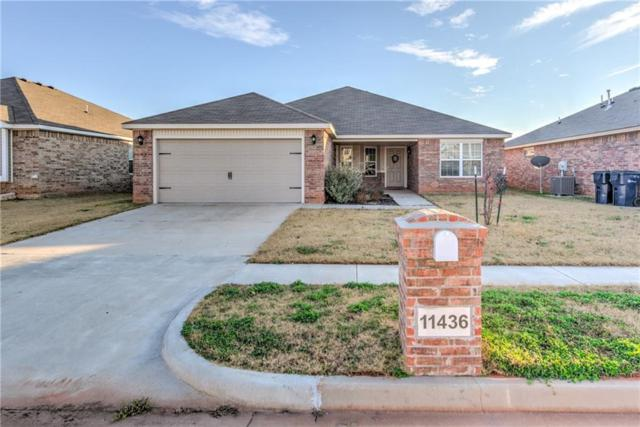 11436 25th Terrace, Yukon, OK 73099 (MLS #801855) :: Wyatt Poindexter Group