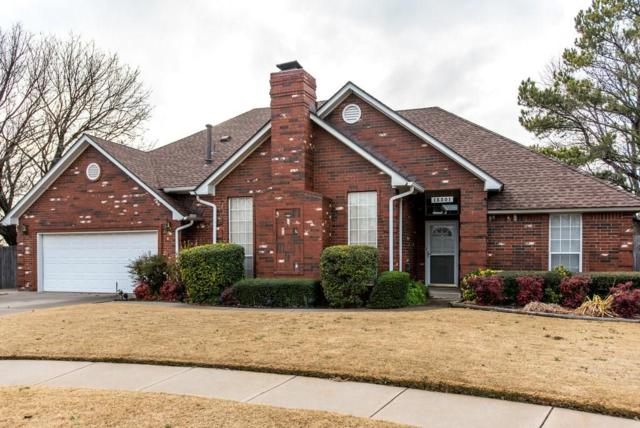 13301 Golden Eagle Drive, Edmond, OK 73013 (MLS #801985) :: Wyatt Poindexter Group
