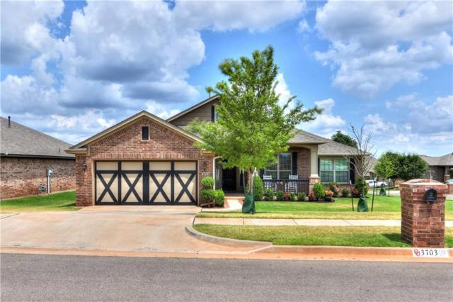 3703 Painted Bird Lane, Norman, OK 73071 (MLS #801992) :: Wyatt Poindexter Group