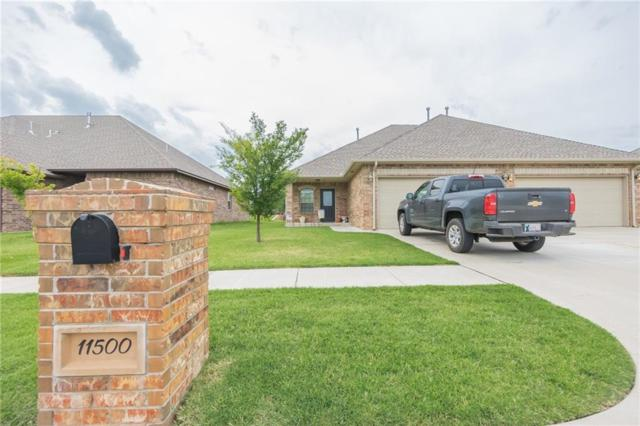 11500 NW 121st Place, Yukon, OK 73099 (MLS #802026) :: Erhardt Group at Keller Williams Mulinix OKC
