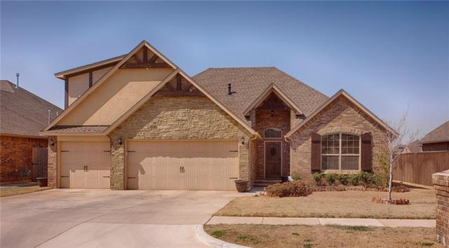 909 Ryan Road, Moore, OK 73160 (MLS #802042) :: Wyatt Poindexter Group