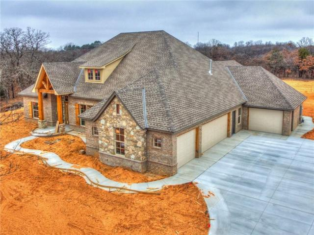 14125 SE 37th Place, Choctaw, OK 73020 (MLS #802287) :: Wyatt Poindexter Group
