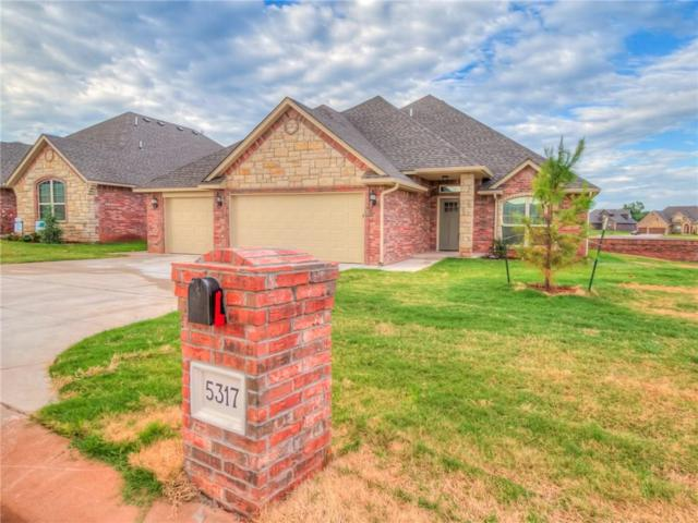 5317 Miranda Dr., Edmond, OK 73025 (MLS #802355) :: Wyatt Poindexter Group
