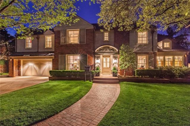 1707 Camden, Nichols Hills, OK 73116 (MLS #802560) :: Wyatt Poindexter Group
