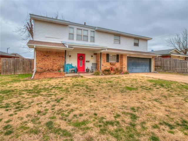 121 N Briarwood, Yukon, OK 73099 (MLS #802647) :: Wyatt Poindexter Group