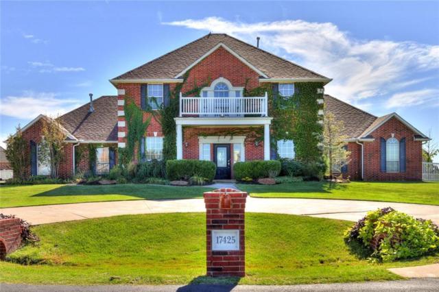 17425 Barrington Hills Lane, Edmond, OK 73012 (MLS #802871) :: Wyatt Poindexter Group