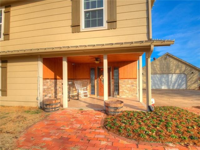 19625 SE 31st Street, Harrah, OK 73045 (MLS #802921) :: Wyatt Poindexter Group